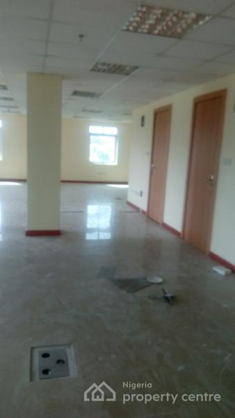 Well Finished Office Space of 200sqm Centre Area, Generator, 24hrs Light with Elevator, Central Area Phase 2, Abuja, Office Space for Rent