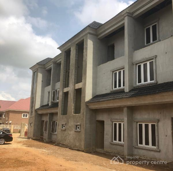 Newly, Construction Still Ongoing Exquisitely Finished 4 Bedrooms Terraced Duplex, By Stella Maris School, Life Camp, Gwarinpa, Abuja, Terraced Duplex for Sale