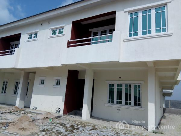 4 Bedroom Semi-detached with Bq, Meridians Park Estate, Around Awoyaya, Lekki Gardens Estate, Ajah, Lagos, Semi-detached Duplex for Sale