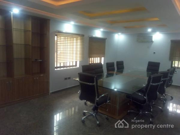 Exquisitely Furnished 5 Bedrooms Duplex with 2 Rooms Servant Quarters, Off Aminu Kano  Crescent, Wuse 2, Abuja, Detached Duplex for Rent