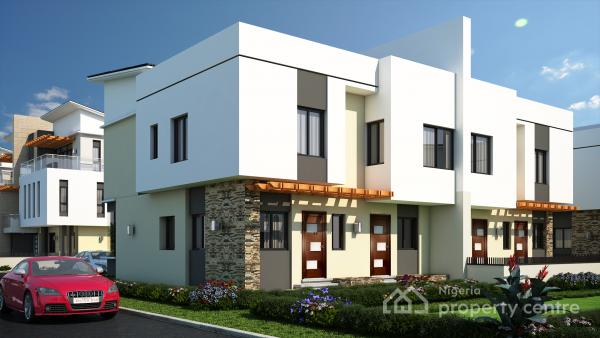 3 Bedroom Duplex with Bq, Behind Karmo Ultra Modern Market, Karmo, Abuja, Semi-detached Duplex for Sale