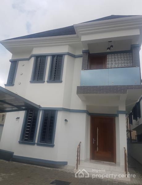 Luxury Beautiful 5 Bedroom Fully Detached Duplex with Big Bq, Opposite Victory Park, Osapa, Lekki, Lagos, Detached Duplex for Sale