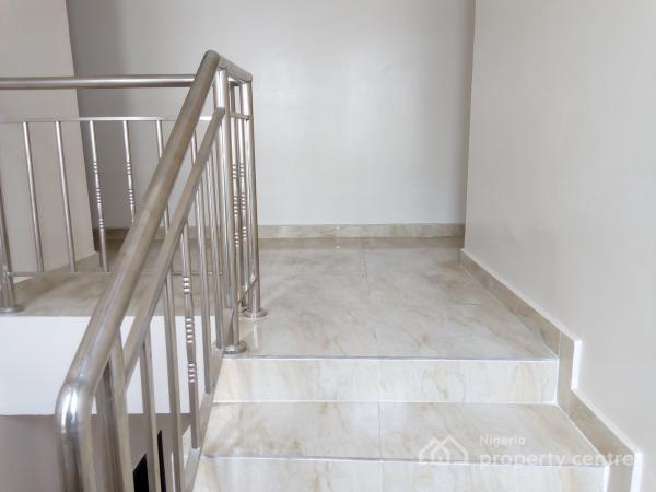 Exquisitely Finished 4 Bedroom Semi-detached Duplex with B/q, Chevron Alternative Route, Lekki, Lagos, Semi-detached Duplex for Rent