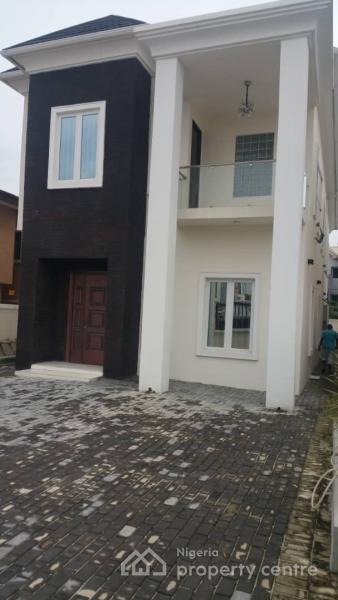 Brand New & Luxuriously 5 Bedroom Detached Duplex with 1 Rooms B/q, Atlantic View Estate, Alpha Beach Road, Igbo Efon, Lekki, Lagos, Detached Duplex for Sale