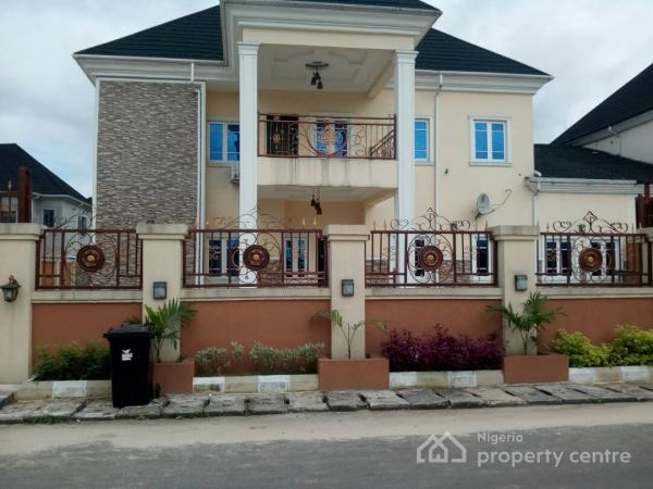 4 Bedroom Duplex with 1 Room Bq with Jacuzzi Bathtub Computerized and Split Ac Fixed with 5d Wall Paper, Harmony Estate, By Airforce, Obio-akpor, Rivers, Semi-detached Duplex for Sale