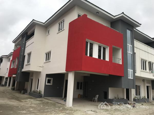 Luxury Four Bedroom Terrace with a Room Bq, Ikate Elegushi, Lekki, Lagos, Terraced Duplex for Rent