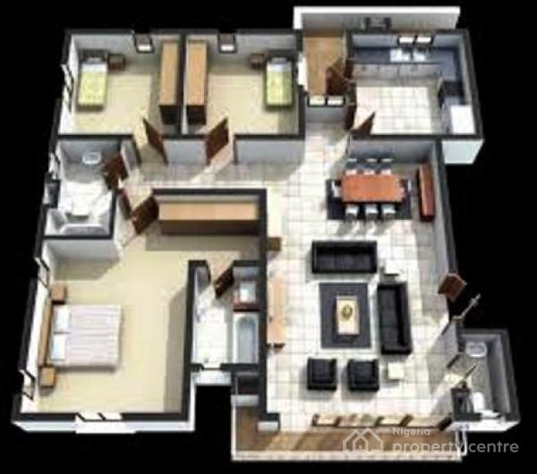 3 Bedroom Apartments, Surulere, Lagos, Flat for Sale