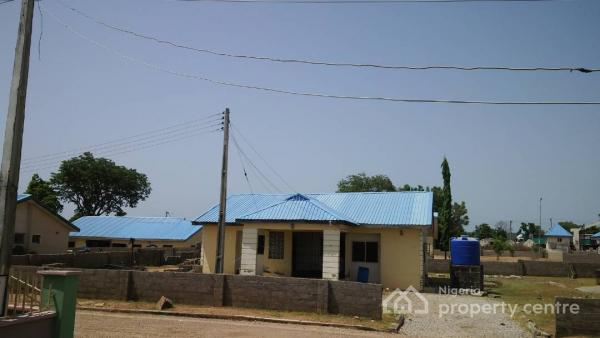Well Spacious Two Bedroom Bungalow with  Corner Shops in a Good Location, Otokiti Housing Estate, Lokoja, Kogi, Detached Bungalow for Sale