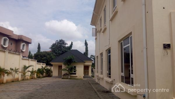 Brand New 7 Bedroom Ambassadorial Mansion 2 Bedroom Bq, 2 Bedroom Chalet, Pool, Garden, It Can Take Over 15 Mercedes Gwagon, Aso Drive, Maitama District, Abuja, House for Rent