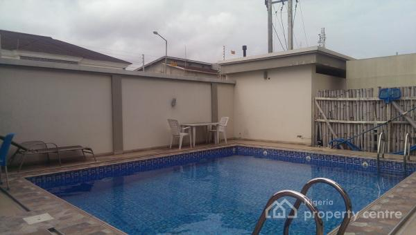 Executive 3 Bedroom with Maids Room, All Rooms En Suite, Lekki Right By Pinnacle Fuel Station, Lekki Phase 1, Lekki, Lagos, Flat for Rent