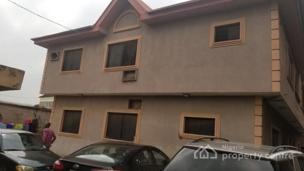 Block of 4 Flats with 2 Boys Quarters, Shosanya Street, Soluyi, Gbagada, Lagos, Block of Flats for Sale