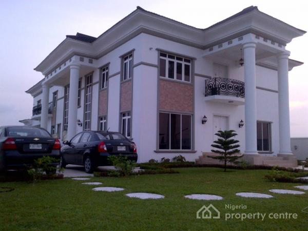 a Tastefully Built, 6 Bedroom Miami Style Luxurious Open Plan House with Swimming Pool and Jacuzzi, on 1550sqm, Royal Gardens Estate, Lekki, Lagos, Detached Duplex for Sale