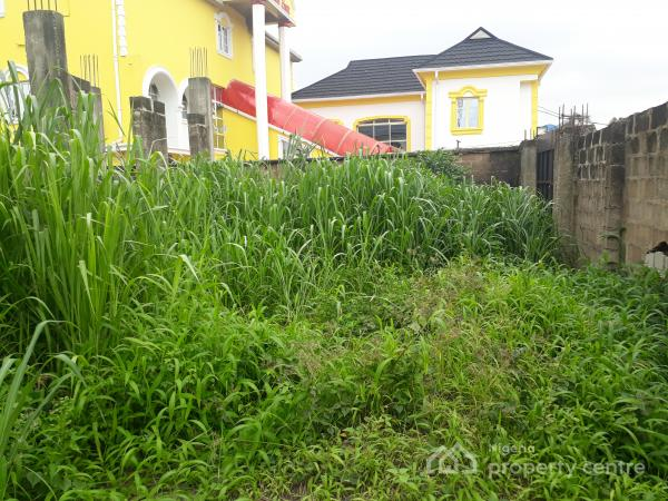 Fenced Land Measuring 480sqm Within an Beckely Estate Abule Egba with Good Road Network Tarred Road and Serene Neighbourhood, Collins Crescent Beckley  Zone 2 Abule Egba Lagos, Abule Egba, Agege, Lagos, Land for Sale