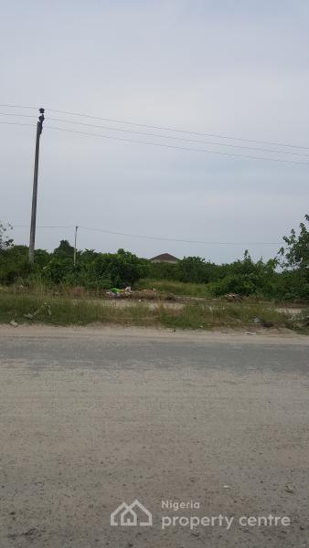 a Plot Measuring 1100sqm, By Rain Oil Filling Station, Abijo Gra, Abijo, Lekki, Lagos, Mixed-use Land for Sale