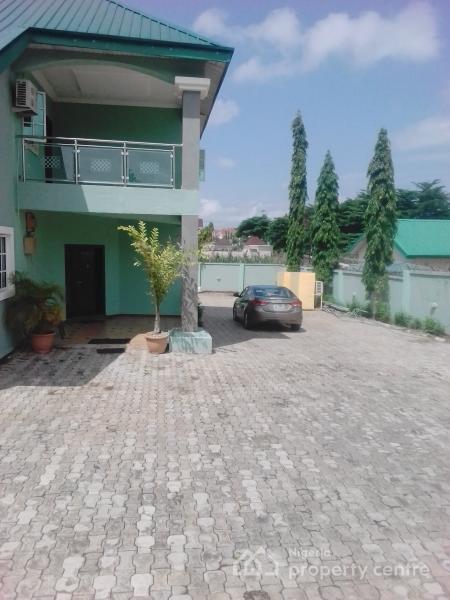 4 Bedroom Duplex with 2 Bedroom Guest Chalet + 2 Room Bq, Suncity Estate, Galadimawa, Abuja, Detached Duplex for Rent