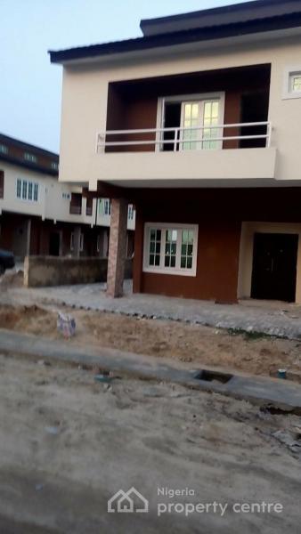 4 Bedroom Terrace (carcass) Corner Piece, Phase 4, Lekki Gardens Estate, Ajah, Lagos, Terraced Duplex for Sale