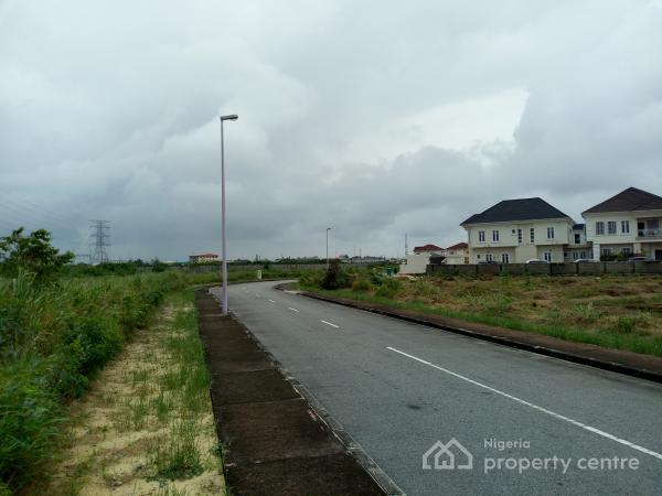 Well Located Dry Plot of Land Measuring 925.255 Square Metres, Royal Gardens Estate, Ajah, Lagos, Residential Land for Sale