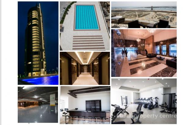 Luxury 2 Bedroom Apartment, Eko Atlantic City, Victoria Island (vi), Lagos, Flat Short Let