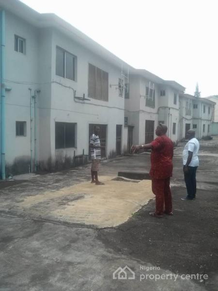 Ready-made 10 Units 4 Bedrooms Flats with Swimming Pool, 2 Conference Halls, Fenced with Security House in an Exclusive Location, Valley Estate, Off Lagos-abeokuta Express Way, Dopemu, Mangoro, Ikeja, Lagos, Hotel / Guest House for Sale