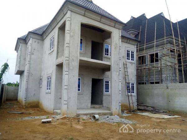 Uncompleted 4 Bedroom Duplex Off Sars Rd, Rumuahalu, Port Harcourt, Rivers, Detached Duplex for Sale