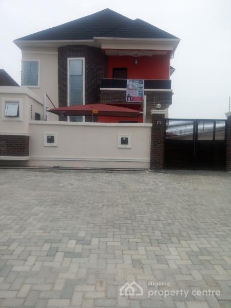 Distress Sale! Newly Built 4 Bedroom Fully Detached Duplex, New Road, Before Chevron Roundabout, Lekki, Lagos, Detached Duplex for Sale