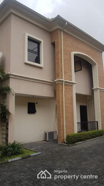Partly Serviced 3 Bedroom Wing of Duplex with a Maids Room in a Shared Compound with Another Unit (occupied), Banana Island, Ikoyi, Lagos, Semi-detached Duplex for Rent