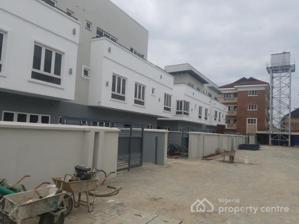 Newly  Built 5 Bedroom Semi Detached Duplex Well Fitted, En Suite and Located in a Serene Environment, with and Attached Bq, Igbo Efon, Lekki, Lagos, Semi-detached Duplex for Sale