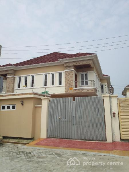 Well Built 2 Units of 4 Bedroom Semi Detached Duplex with a Maid Room, Off Alternative Route, Lekki Conservative Road, Lekki, Lagos, Semi-detached Duplex for Sale
