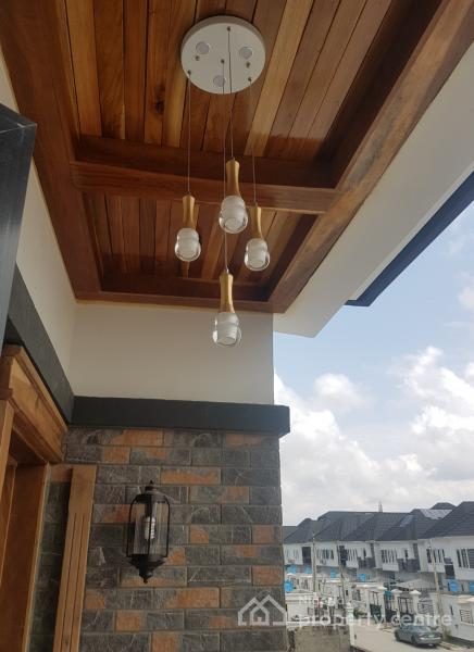 Foreign Awesome and Spacious 5 Bedroom Fully Duplex with Bq, Razaq Eletu Str, Opposite Victory Park Estate, Osapa, Lekki, Lagos, Detached Duplex for Sale