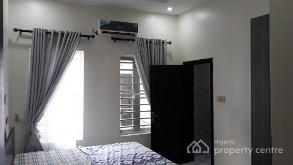 Nicely Furnished 4 Bedroom House with Boys Quarter, Off Chevron Drive, Lekki, Lagos, Semi-detached Duplex Short Let