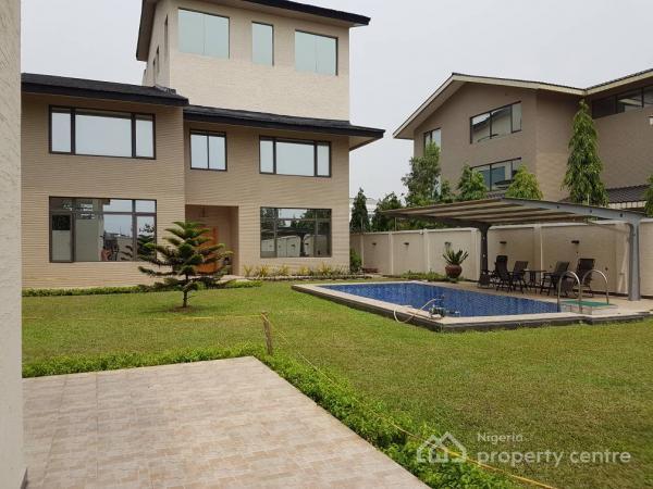 Top Notch Luxury and Massive 5 Bedroom Detached Duplex with 2 Bedroom Bq + Pool on 950sqm, Banana Island, Ikoyi, Lagos, Detached Duplex for Sale
