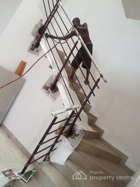 Luxury 4 Bedroom with 1 Bq Terrace Duplex, Off Freedom Way, 3rd Roundabout, Lekki Phase 1, Lekki, Lagos, Terraced Duplex for Sale
