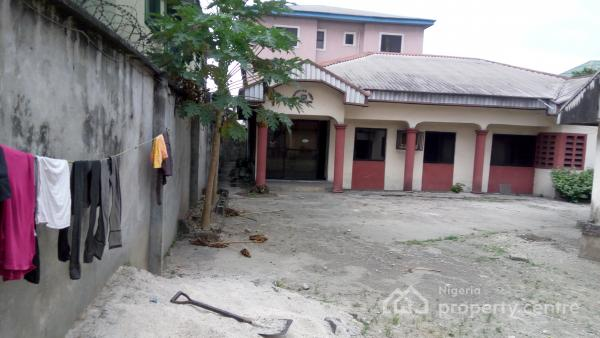 2 Bungalows with 4 and 3 Bedrooms Detached, Fenced, Alcon Road, Woji, Port Harcourt, Rivers, Detached Bungalow for Sale