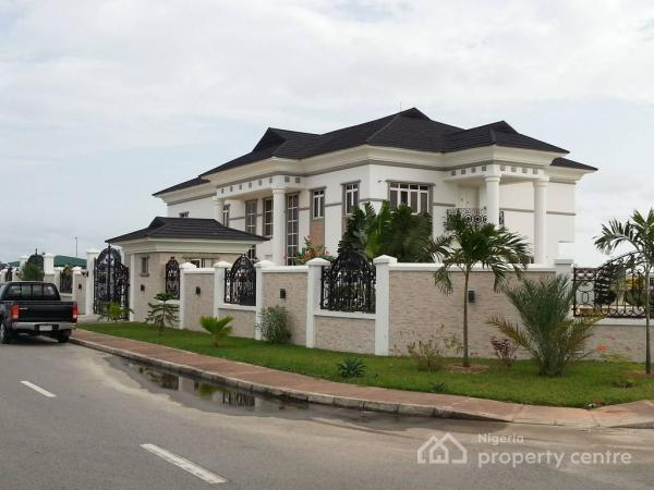 a Tastefully Built, 6 Bedroom Miami Style Luxurious Open Plan House with Swimming Pool and Jacuzzi, Royal Garden Estate, Ajah, Lagos, Detached Duplex for Sale