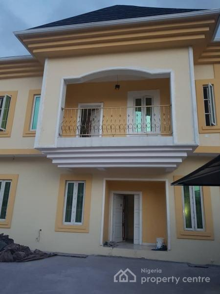 a Tastefully Built, 2 Numbers of 5 Bedroom Spacious Detached House with 3 Sitting Rooms, 2 Fitted Kitchen Up and Down, Off Adeyemo Akapo Street, Omole Phase 1, Ikeja, Lagos, Detached Duplex for Sale