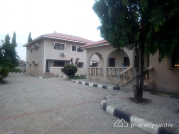 7 Bedroom Duplex + 4 Bedroom Bungalow (11rooms ) Suitably for Hotel, School Or Private Hospital, Kado, Abuja, House for Sale