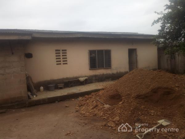 3 Bedroom Bungalow Setback on Full Plot Fenced Close to The Main Road, Ologometa, Akute, Ifo, Ogun, House for Sale