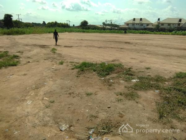 a 2.5 Hectares Commercial Plot, Already Fenced, Access Road, Flat Land. R of O, By Amina Court, Developed Area Tared Road to The Plot, Apo, Abuja, Land for Sale