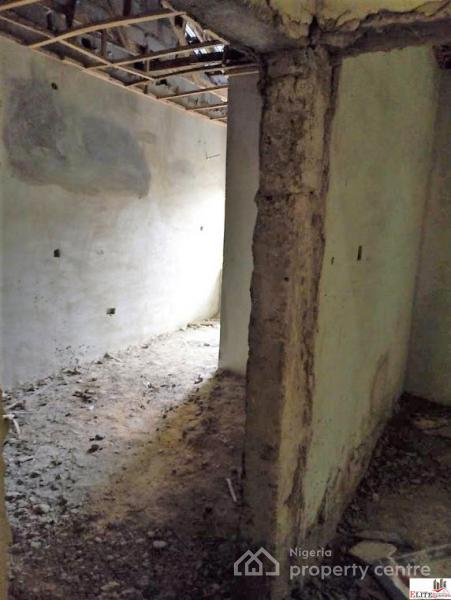 Fully Serviced   4 Bedroom Terrace Duplex   Carcass (interior), Ajue, Behind Lagos Business School,  Phase 3, Lekki Gardens Estate, Ajah, Lagos, Terraced Duplex for Sale