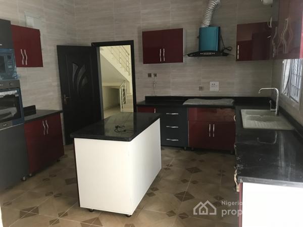 Lovely 5 Bedroom Duplex with Bq, Lekki County Homes, Lekki, Lagos, Detached Duplex for Sale