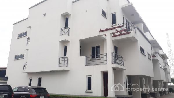 Lovely Self Serviced 4 Bedroom Terrace Duplex, Parkview, Ikoyi, Lagos, Terraced Duplex for Rent
