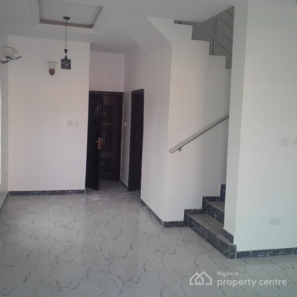 Luxury New 4 Bedroom Duplex Tastefully Finished with Bq, Ologolo, Lekki, Lagos, Semi-detached Duplex for Sale