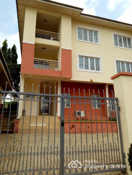 Well Finished 3 Bedroom Semi Detached Serviced Duplex, Ac,gen, Ideally for Both Residential/office Purpose, Maitama District, Abuja, Semi-detached Duplex for Rent