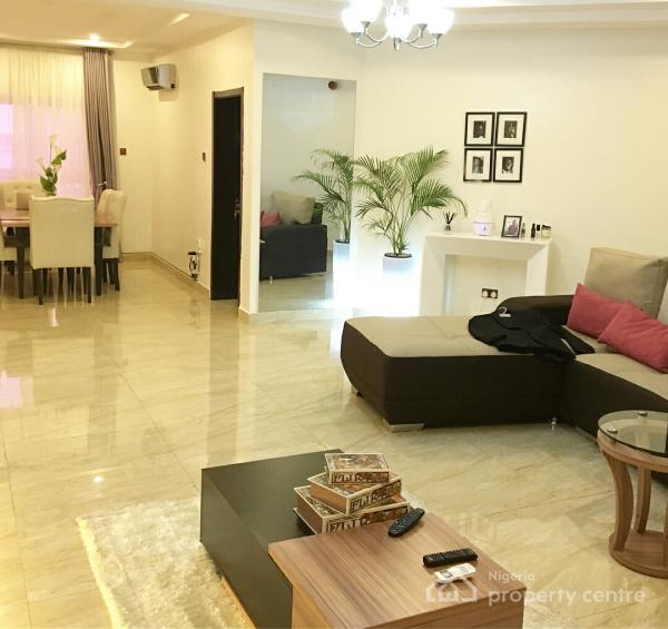 Contemporary Newly Built Unfurnished 3 Bedroom Flat, Osapa, Lekki, Lagos, Block of Flats for Sale