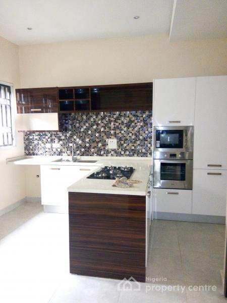Newly Built 5 Units of 4 Bedroom Terraced Duplex with a Room Bq, Swimming Pool, Fitted Kitchen, Etc., Parkview, Ikoyi, Lagos, Terraced Duplex for Sale