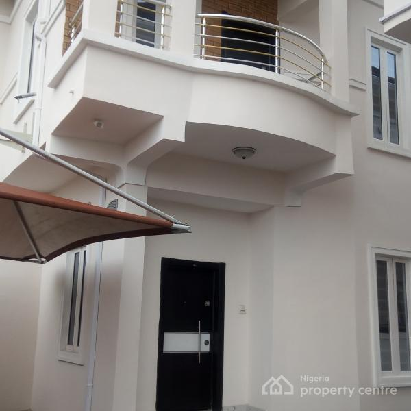 Executive Master 4 Bedroom Detached Duplex with Bq, Road 5, Herbert Marcauly Lane, Chevy View Estate, Lekki, Lagos, Detached Duplex for Sale