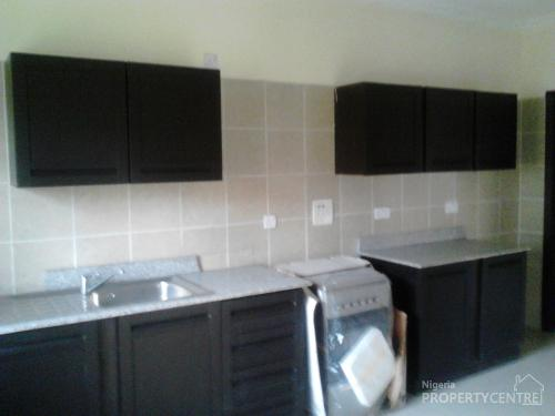 For sale executive serviced 3 bedroom terrace flat boys for Kitchen cabinets for sale in lagos