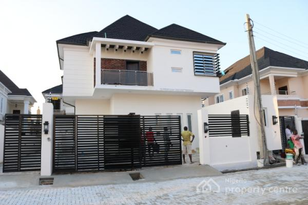 Brand New, Spacious and Luxuriously Finished 4 Bedroom Detached House with Boys Quarter, Idado, Lekki, Lagos, Detached Duplex for Sale