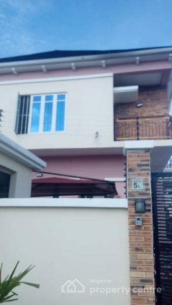 Nicely Built 4 Bedrooms Semi-detached House with Bq, Water Treatment Plant, By Mega Chicken, Ikota Villa Estate, Lekki, Lagos, Semi-detached Duplex for Rent