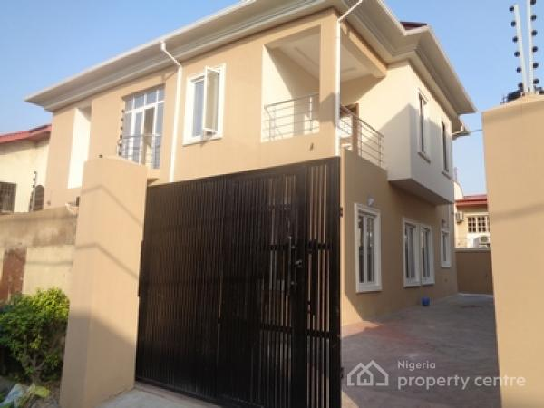 Stop and Smell The Flowers: This Beautiful 4 Bedroom Detached Duplex + 1 Room Boys Quarter at Ikeja Gra Is for Rent..., Ikeja Gra, Ikeja, Lagos, Detached Duplex for Rent